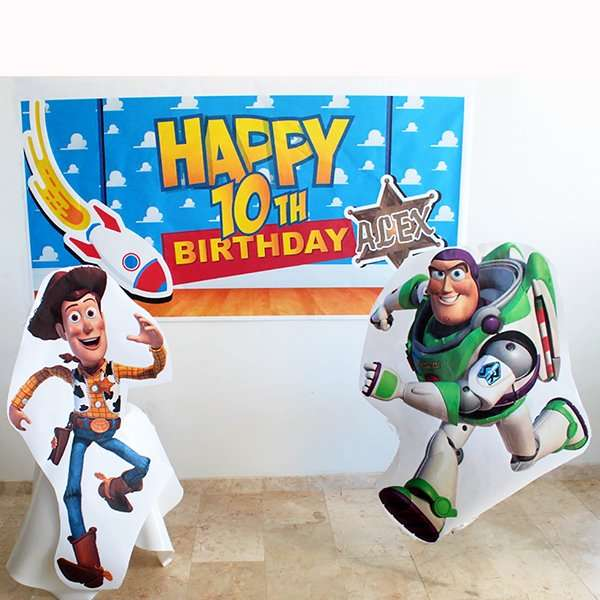 Personalized Toy Story Power Up Banner 1ct