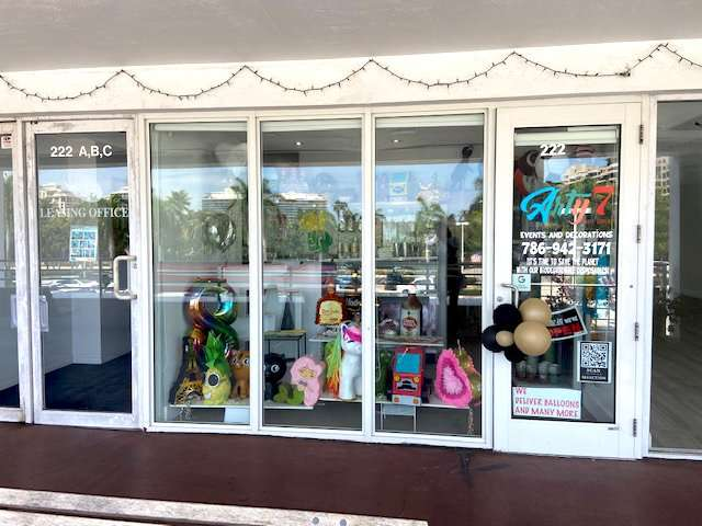 Key Biscayne - Arty7 Party Supplies Miami FL